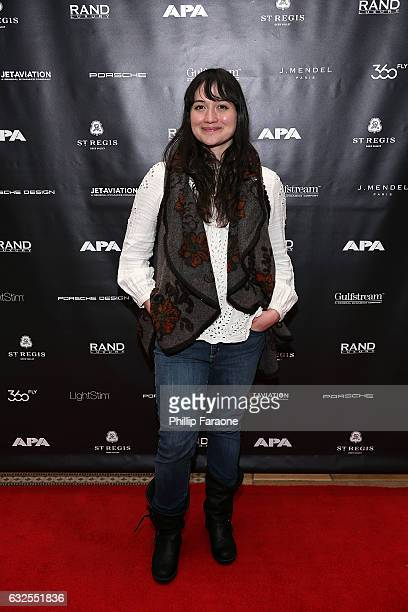 Actress Lily Gladstone attends The APA Reception at The RAND Luxury Lounge at The St Regis Deer Valley on January 23 2017 in Park City Utah