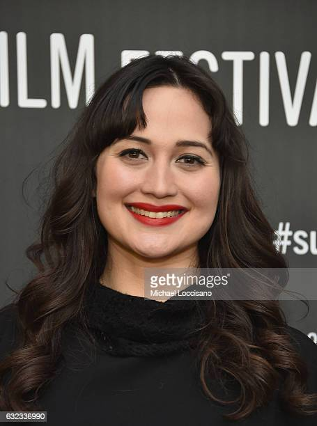 Actress Lily Gladstone attends the 'Walking Out' premiere on day 3 of the 2017 Sundance Film Festival at Library Center Theater on January 21 2017 in...
