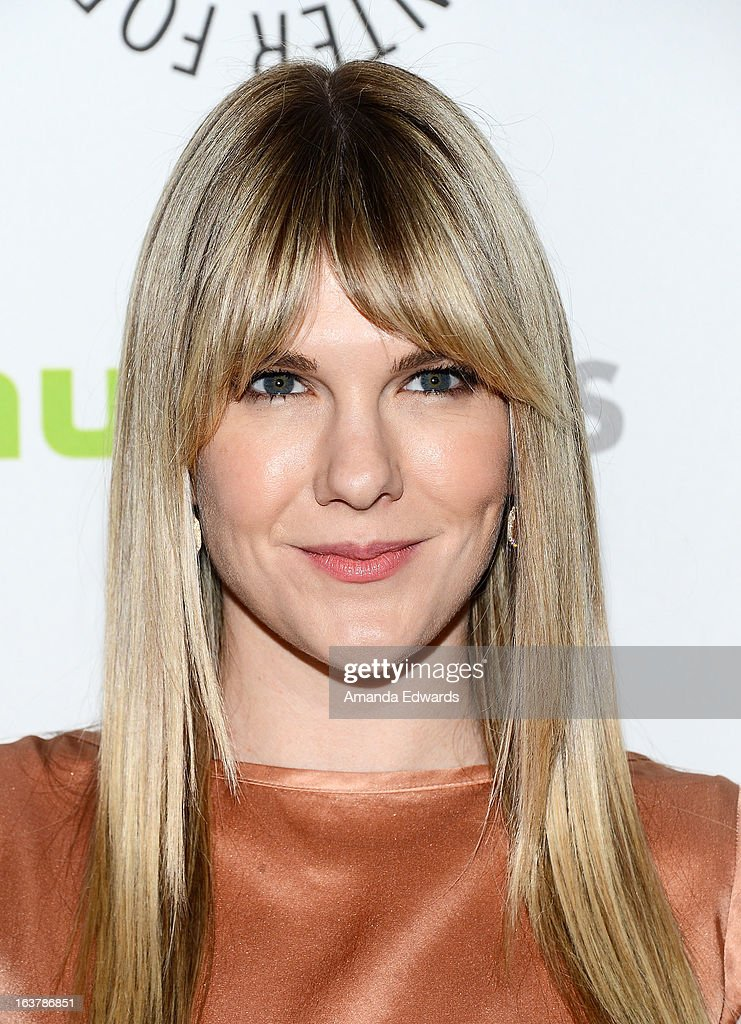Actress Lily Rabe arrives at the 30th Annual PaleyFest: The William S. Paley Television Festival - Closing Night Presentation honoring 'American Horror Story' at the Saban Theatre on March 15, 2013 in Beverly Hills, California.
