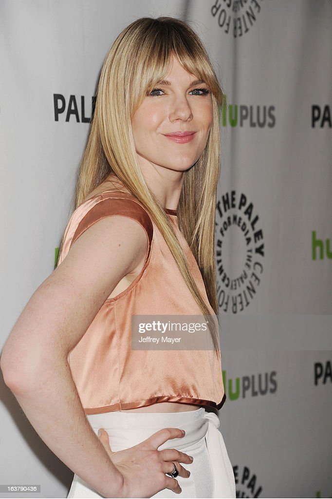 Actress Lily Rabe arrives at the 30th Annual PaleyFest: The William S. Paley Television Festival - Closing Night Presentation honoring 'American Horror Story' at Saban Theatre on March 15, 2013 in Beverly Hills, California.