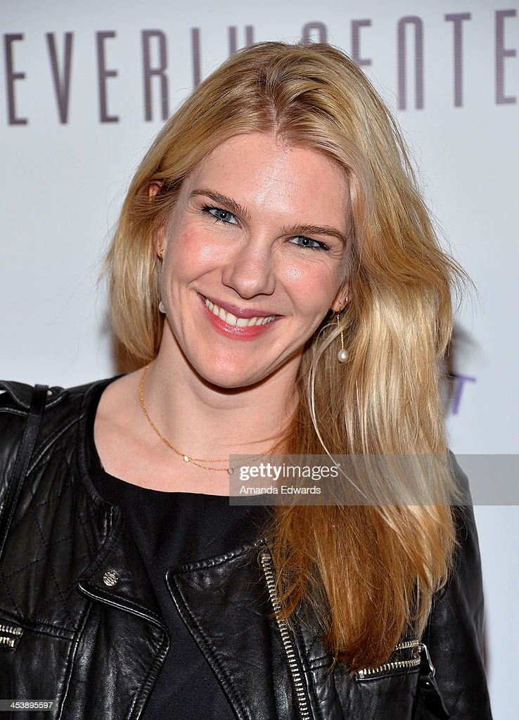 Actress <a gi-track='captionPersonalityLinkClicked' href=/galleries/search?phrase=Lily+Rabe&family=editorial&specificpeople=233506 ng-click='$event.stopPropagation()'>Lily Rabe</a> arrives at the 'Tie The Knot' grand store opening at The Beverly Center on December 5, 2013 in Los Angeles, California.