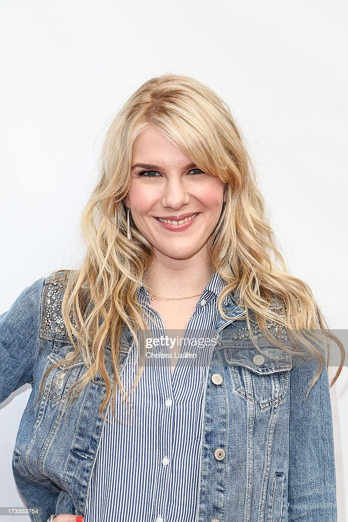 Actress Lily Rabe attends Abercrombie & Fitch's 'Stars on the Rise' event at Abercrombie & Fitch on July 11, 2013 in Los Angeles, California.