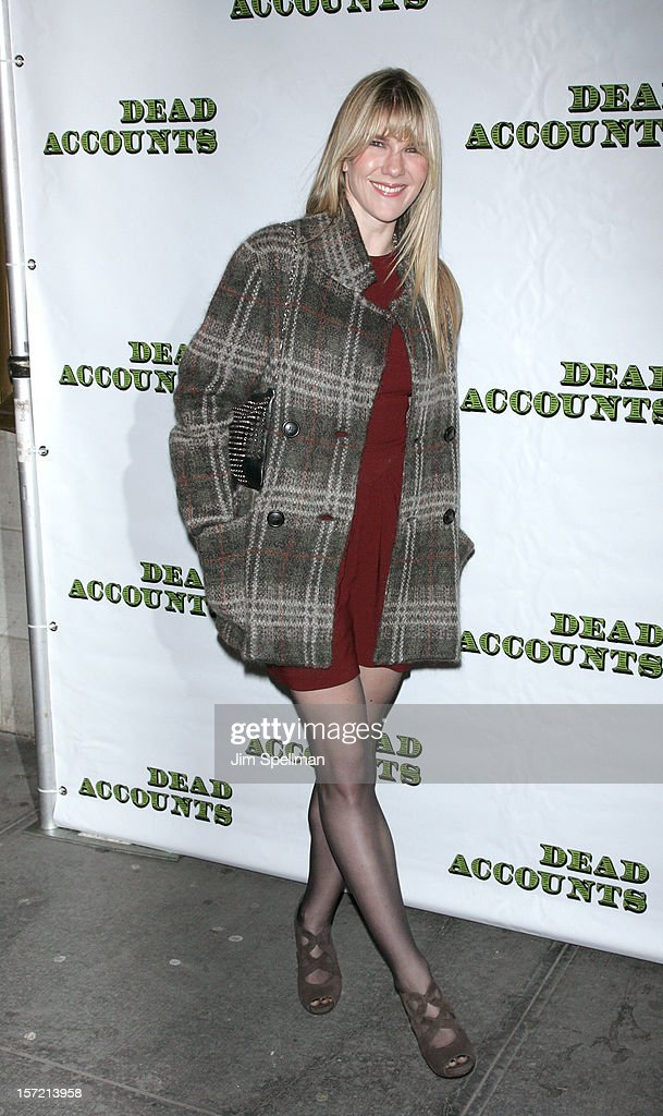 Actress Lily Rabe attends 'Dead Accounts' Broadway Opening Night at Music Box Theatre on November 29, 2012 in New York City.