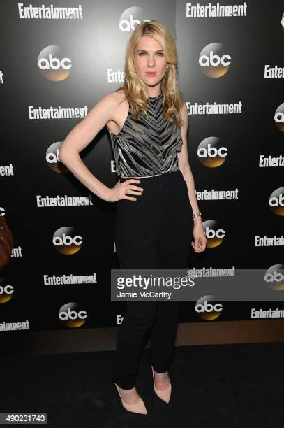 Actress Lily Rabe attends the Entertainment Weekly ABC Upfronts Party at Toro on May 13 2014 in New York City