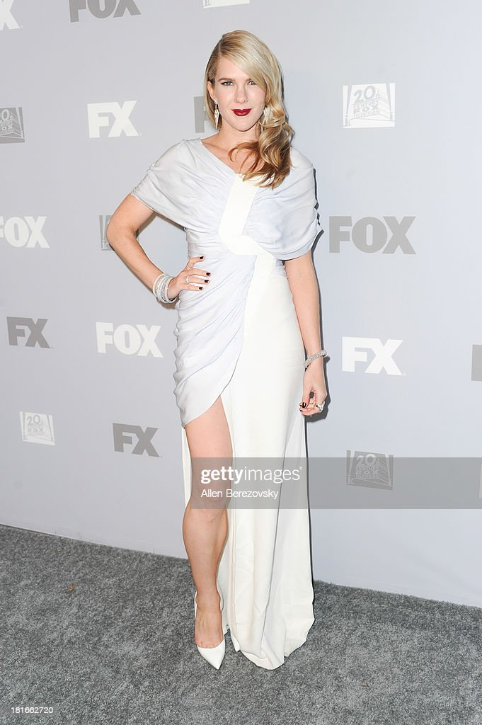 Actress Lily Rabe attends the Fox Broadcasting, Twentieth Century Fox Television and FX 2013 Emmy nominees celebration at Soleto on September 22, 2013 in Los Angeles, California.