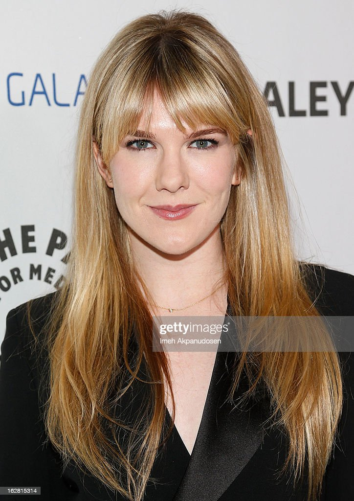 Actress Lily Rabe attends the Inaugural PaleyFest Icon Award honoring Ryan Murphy at The Paley Center for Media on February 27, 2013 in Beverly Hills, California.