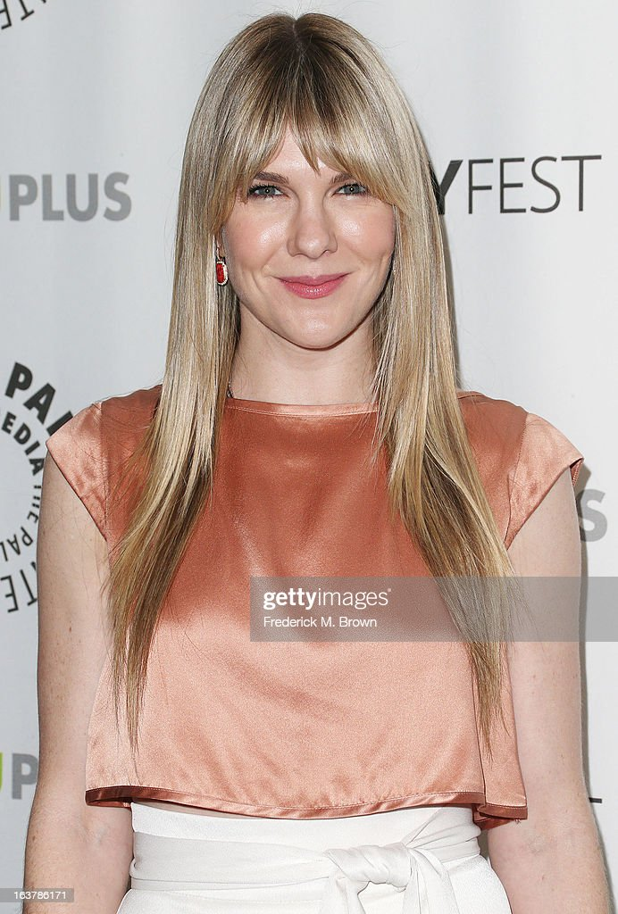 Actress Lily Rabe attends The Paley Center For Media's PaleyFest 2013 Honoring 'American Horror Story: Asylum' at the Saban Theatre on March 15, 2013 in Beverly Hills, California.