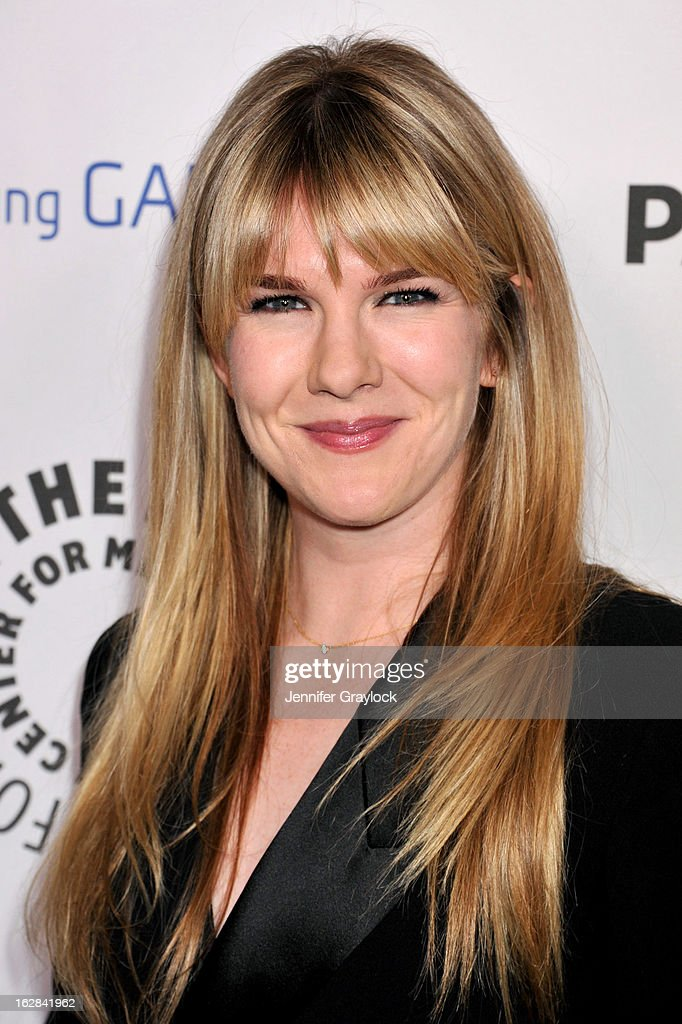 Actress Lily Rabe attends the PaleyFest Icon Award 2013 held at The Paley Center for Media on February 27, 2013 in Beverly Hills, California.