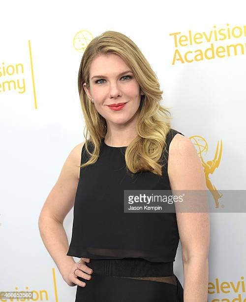 Actress Lily Rabe attends the Television Academy Presents An Evening With The Women Of 'American Horror Story' at The Montalban on March 17 2015 in...