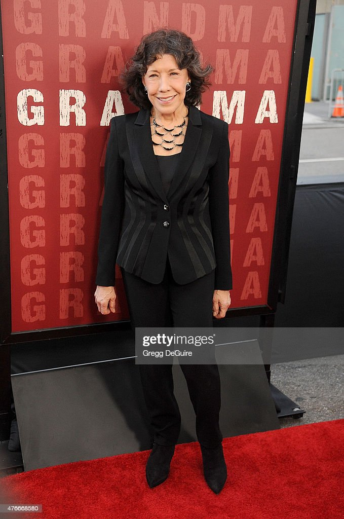 Actress Lily Tomlin arrives at the 2015 Los Angeles Film Festival opening night premiere of 'Grandma' at Regal Cinemas LA Live on June 10 2015 in Los...