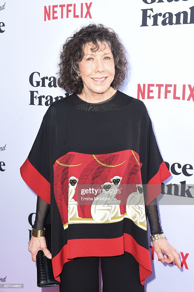 Actress Lily Tomlin arrives at the Netflix Original Series 'Grace & Frankie' Season 2 premiere at Harmony Gold on May 1, 2016 in Los Angeles, California.