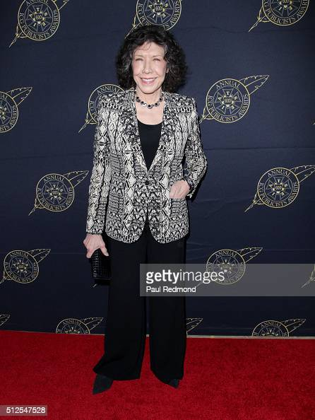 Actress Lily Tomlin attends the 53rd Annual International Cinematographers Guild Publicists Luncheon at The Beverly Hilton Hotel on February 26 2016...