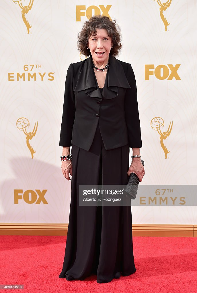 Actress Lily Tomlin attends the 67th Emmy Awards at Microsoft Theater on September 20 2015 in Los Angeles California 25720_001