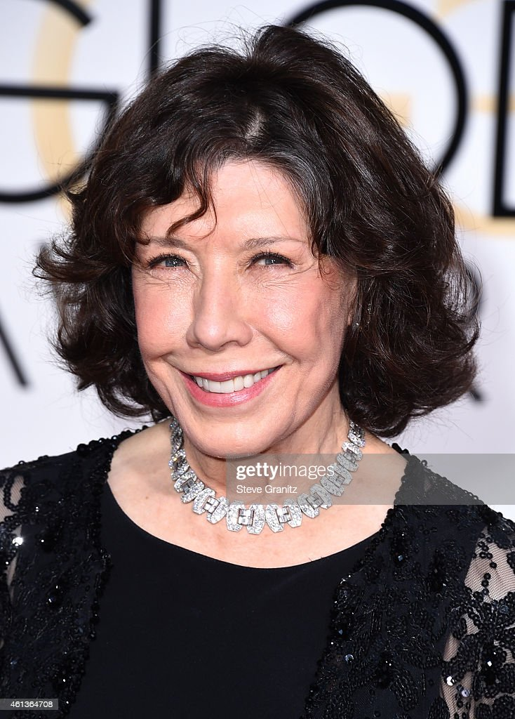 Actress Lily Tomlin attends the 72nd Annual Golden Globe Awards at The Beverly Hilton Hotel on January 11 2015 in Beverly Hills California