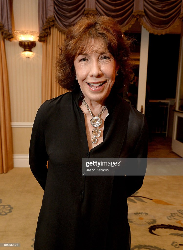 Actress Lily Tomlin attends the 9th Annual GLSEN Respect Awards at Beverly Hills Hotel on October 18 2013 in Beverly Hills California