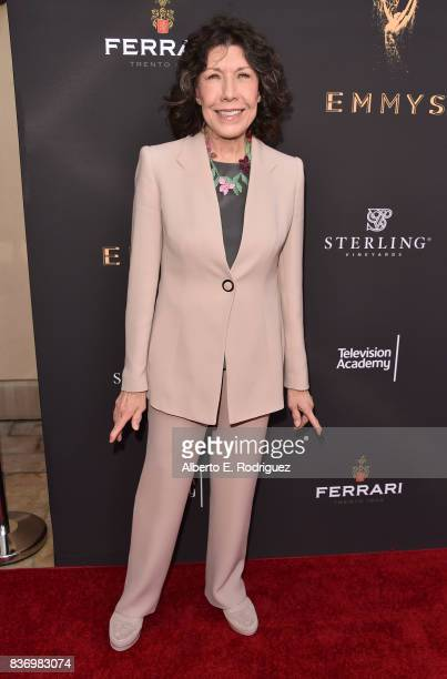 Actress Lily Tomlin attends the Television Academy's Performers Peer Group Celebration at The Montage Beverly Hills on August 21 2017 in Beverly...