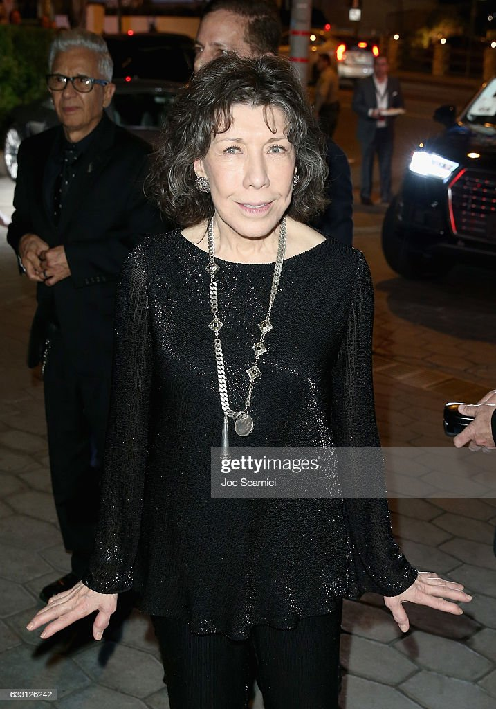 Actress Lily Tomlin attends The Weinstein Company & Netflix's SAG 2017 After Party presented by Audi at Sunset Tower Hotel on January 29, 2017 in West Hollywood, California.
