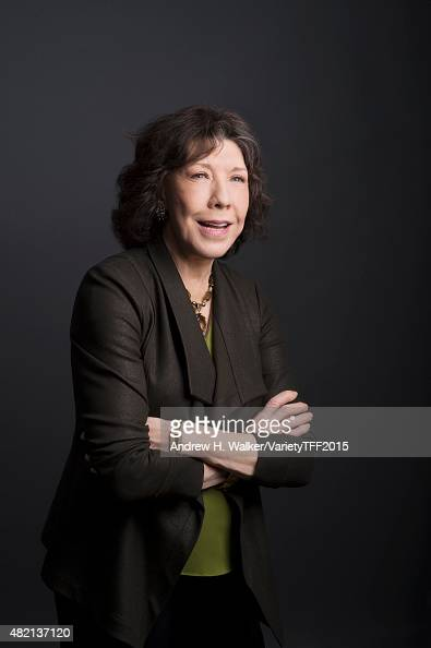 Actress Lily Tomlin is photographed for Variety at the Tribeca Film Festival on April 20 2015 in New York City CREDIT MUST READ Andrew H...