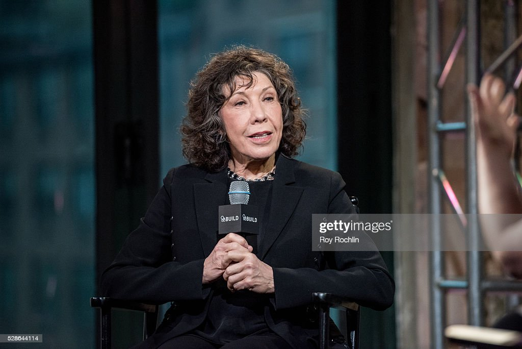 Actress Lily Tomlin speaks about 'Grace And Frankie' with AOL Build at AOL Studios In New York on May 6, 2016 in New York City.