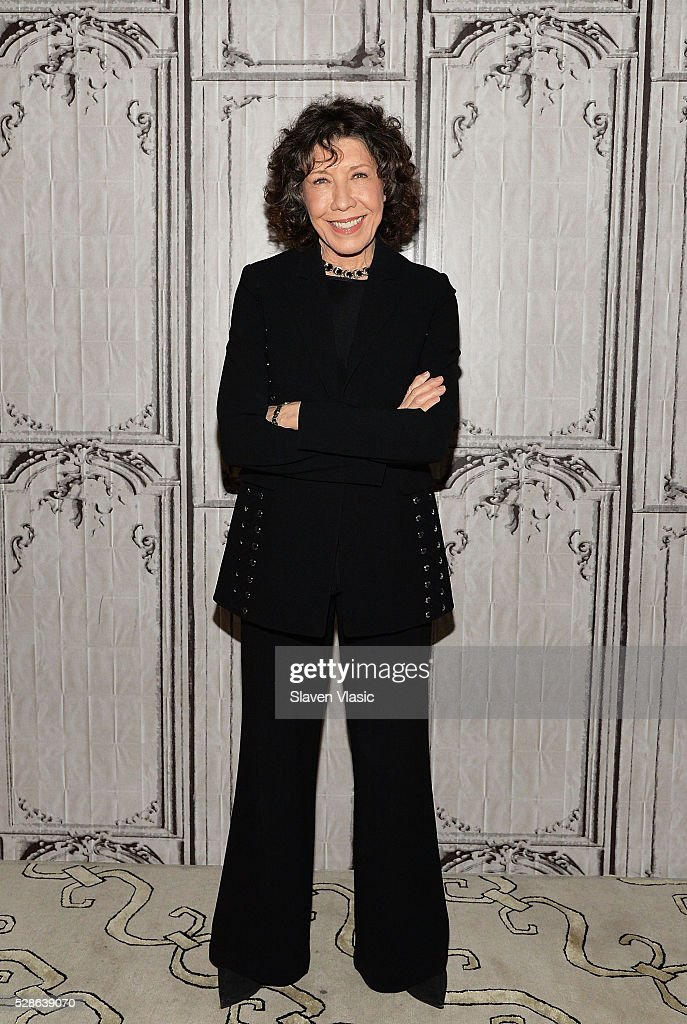 Actress Lily Tomlin visits AOL Build to discuss season two of 'Grace and Frankie' at AOL Studios In New York on May 6, 2016 in New York City.