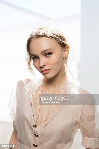 Actress LilyRose Depp is photographed for The Hollywood Reporter on May 14 2016 in Cannes France ON INTERNATIONAL EMBARGO UNTIL AUGUST 25 2016