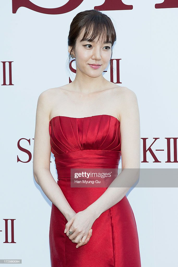 Actress Lim Soo-Jung poses for the photogrpahs during the SK-II Honoring The Spirit Of Discovery event at the Raum on July 3, 2013 in Seoul, South Korea.
