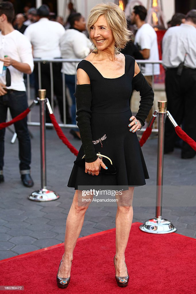 Actress <a gi-track='captionPersonalityLinkClicked' href=/galleries/search?phrase=Lin+Shaye&family=editorial&specificpeople=703856 ng-click='$event.stopPropagation()'>Lin Shaye</a> attends the premiere of FilmDistrict's 'Insidious: Chapter 2' on September 10, 2013 in Universal City, California.