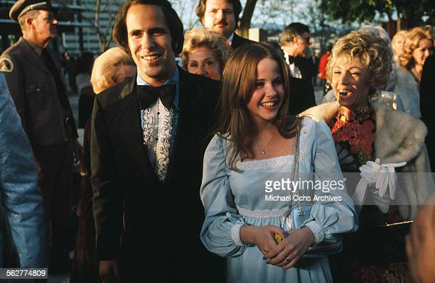 Actress Linda Blair arrives to the 46th Academy Awards at Dorothy Chandler Pavilion in Los AngelesCalifornia