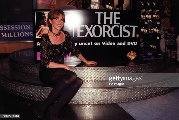 Actress Linda Blair at a video signing at London's Trocadero after the long awaited lifting of the 15 year old ban on the film The Exorcist