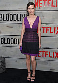 Actress Linda Cardellini arrives at the premiere of Netflix's 'Bloodline' at Landmark Regent on May 24 2016 in Los Angeles California