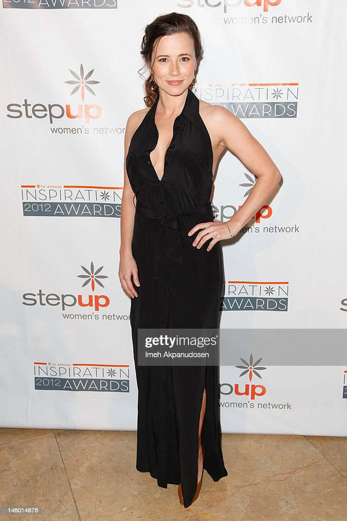 Actress Linda Cardellini attends Step Up Women's Networks' 9th Annual Inspiration Awards at The Beverly Hilton Hotel on June 8, 2012 in Beverly Hills, California.
