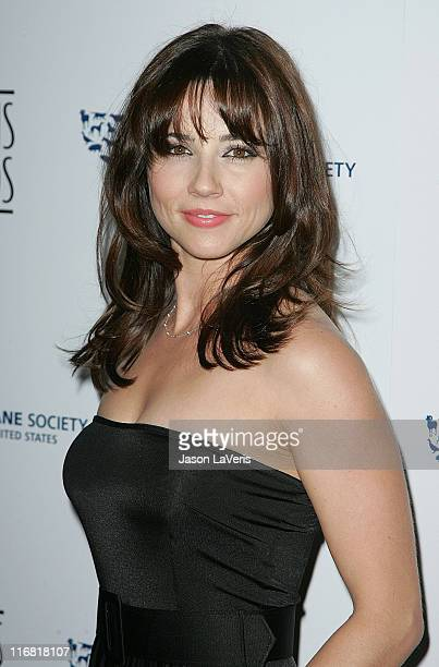 Actress Linda Cardellini attends The 22nd Annual Genesis Awards at the Beverly Hilton Hotel on March 29 2008 in Beverly Hills California