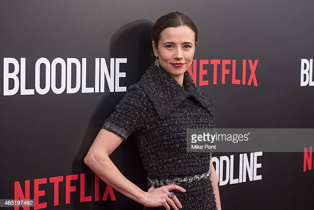 Actress Linda Cardellini attends the 'Bloodline' New York Series Premiere at SVA Theater on March 3 2015 in New York City
