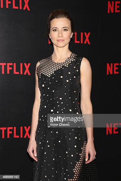 Actress Linda Cardellini attends the NetFlix Award 2015 at Museo Jumex on March 19 2015 in Mexico City Mexico