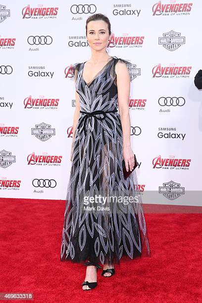 Actress Linda Cardellini attends the premiere of Marvel's 'Avengers Age Of Ultron' at Dolby Theatre on April 13 2015 in Hollywood California