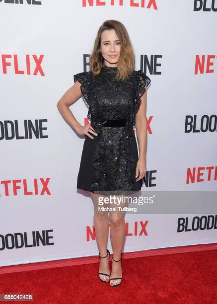 Actress Linda Cardellini attends the premiere of Netflix's 'Bloodline' Season 3 at Arclight Cinemas Culver City on May 24 2017 in Culver City...
