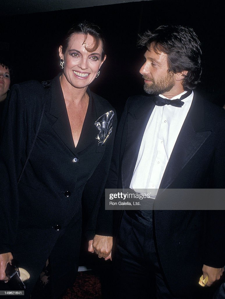 Actress <a gi-track='captionPersonalityLinkClicked' href=/galleries/search?phrase=Linda+Gray&family=editorial&specificpeople=159564 ng-click='$event.stopPropagation()'>Linda Gray</a> and actor <a gi-track='captionPersonalityLinkClicked' href=/galleries/search?phrase=Michael+Brandon+-+Actor&family=editorial&specificpeople=223866 ng-click='$event.stopPropagation()'>Michael Brandon</a> attend the Second Annual American Comedy Awards on May 17, 1988 at the Hollywood Palladium in Hollywood, California.