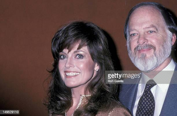 Actress Linda Gray and husband Ed Thrasher attends the WrapUp Parties for the Fifth Season of 'Dallas' and the Third Season of 'Knots Landing' on...