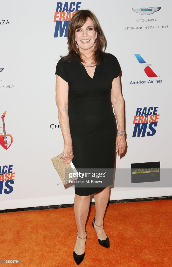 Actress Linda Gray attends the 20th Annual Race to Erase MS Gala 'Love to Erase MS' at the Hyatt Regency Century Plaza on May 3, 2013 in Century City, California.