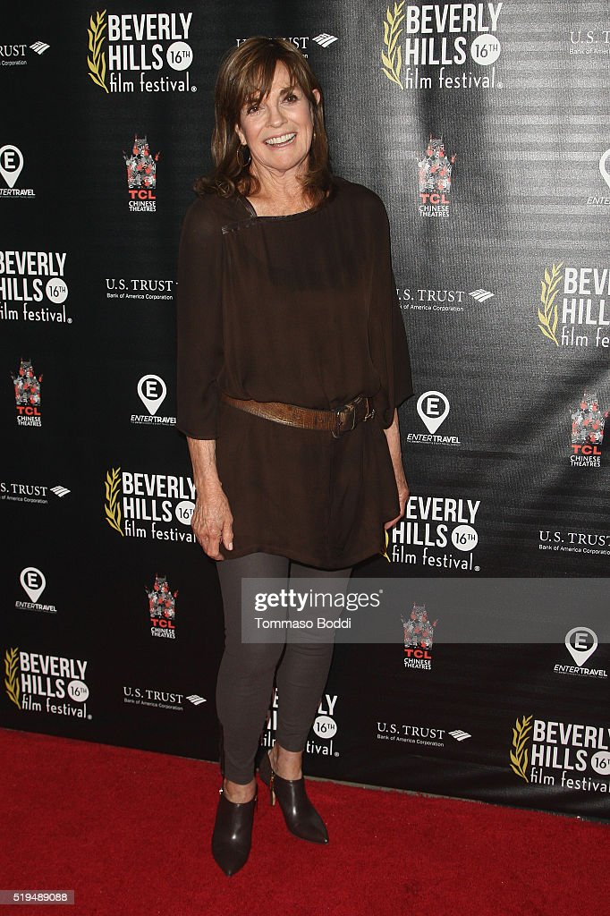 Actress Linda Gray attends the Beverly Hills Film Festival - Opening Night Premiere Of 'The Lennon Report' And 'Baby, Baby, Baby' at TCL Chinese 6 Theatres on April 6, 2016 in Hollywood, California.