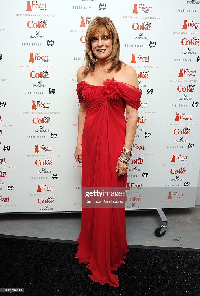 Actress Linda Gray attends the Heart Truth's Red Dress Collection 2011 during Mecerdes-Benz fashion week at The Theatre at Lincoln Center on February 9, 2011 in New York City.