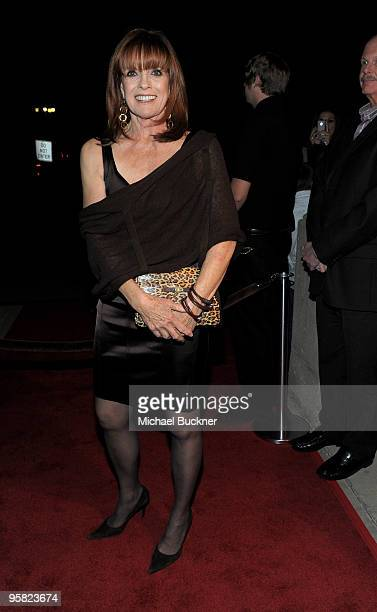 Actress Linda Gray attends the premiere of 'Expecting Mary' at the 2010 Palm Springs International Film Festival at the Annenberg Theatre on January...