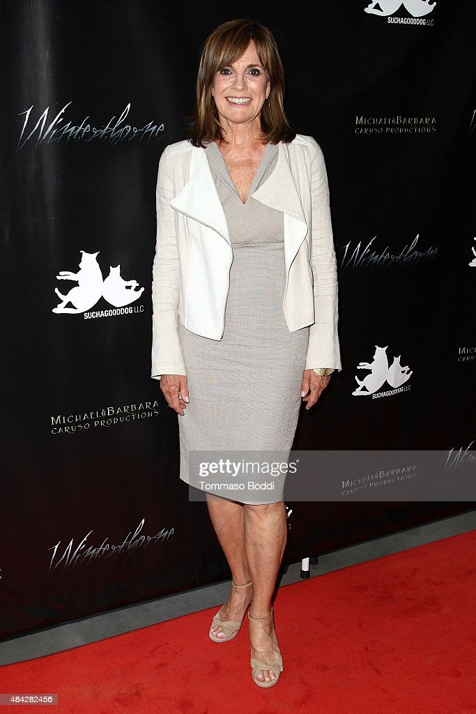 Actress Linda Gray attends the premiere of 'Winterthorne' held at The Renberg Theatre on August 16, 2015 in Los Angeles, California.