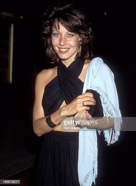 Actress Linda Kozlowski attend the premiere of Ishtar on May 13 1987 at the Plitt Theater in Century City California