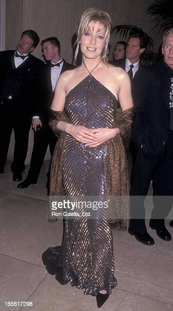 Actress Linda Kozlowski attends Carousel of Hope Ball Benefit on October 28 2000 at the Beverly Hilton Hotel in Beverly Hills California