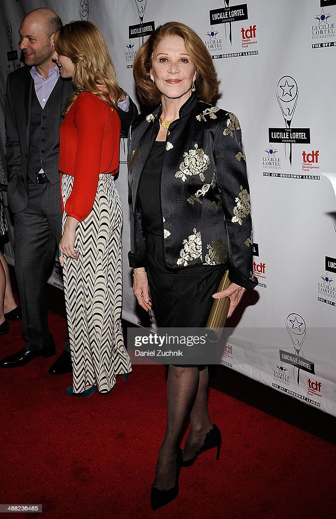 Actress <a gi-track='captionPersonalityLinkClicked' href=/galleries/search?phrase=Linda+Lavin&family=editorial&specificpeople=645189 ng-click='$event.stopPropagation()'>Linda Lavin</a> attends the 29th Annual Lucille Lortel Awards at NYU Skirball Center on May 4, 2014 in New York City.