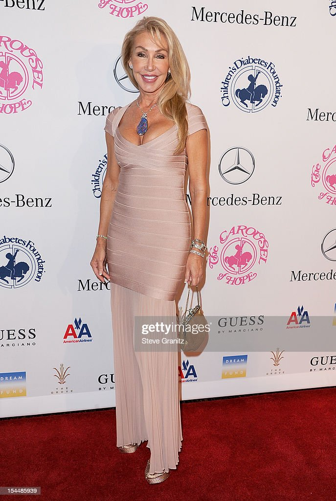 Actress Linda Thompson arrives at the 26th Anniversary Carousel Of Hope Ball presented by MercedesBenz at The Beverly Hilton Hotel on October 20 2012...