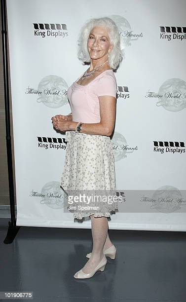 Actress Linda Thorson attends the 66th Annual Theatre World Awards at New World Stages on June 8 2010 in New York City