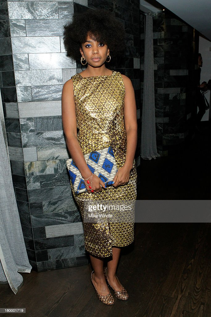Actress Lindiwe Matshikiza attends the Burberry supported premiere and celebration of 'Mandela: Long Walk to Freedom' hosted by The Weinstein Company and Entertainment One at the Toronto International Film Festival on September 7, 2013 in Toronto, Canada.