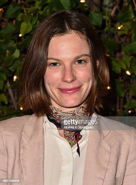 Actress Lindsay Burdge attends a screening of 'Wild Canaries' at Cinefamily on March 3 2015 in Los Angeles California